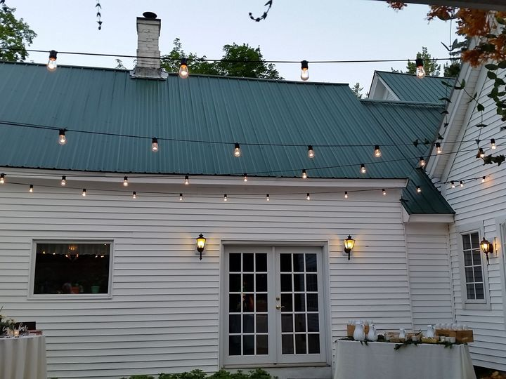 Tmx 1480183328533 Cafe Lights Outdoors Moultonborough, NH wedding rental