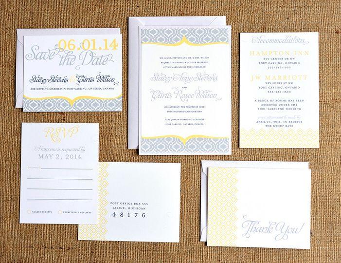6.25 Paper Studio - Invitations - Grand Rapids, MI - WeddingWire