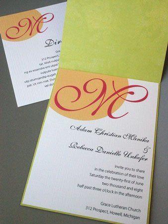 Tmx 1228838853612 Ba IMG 7252 Ada, MI wedding invitation
