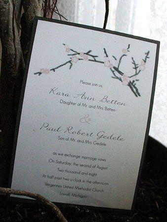 Tmx 1228838895596 Kp IMG 7745 Ada, MI wedding invitation