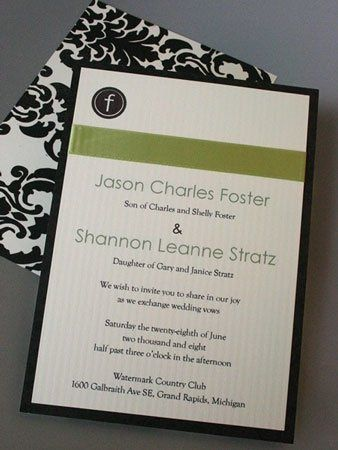 Tmx 1228839159003 Sj IMG 7140 Grand Rapids wedding invitation