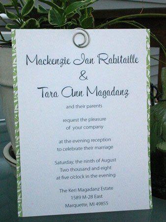Tmx 1228839206643 Tm IMG 7609 Grand Rapids wedding invitation
