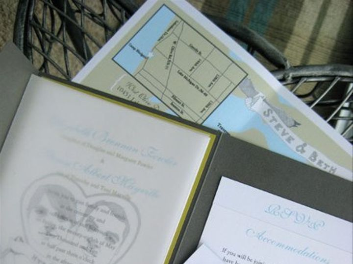 Tmx 1295136699572 IMG3612 Grand Rapids wedding invitation