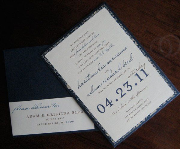 Tmx 1317072450579 IMG4946 Grand Rapids wedding invitation