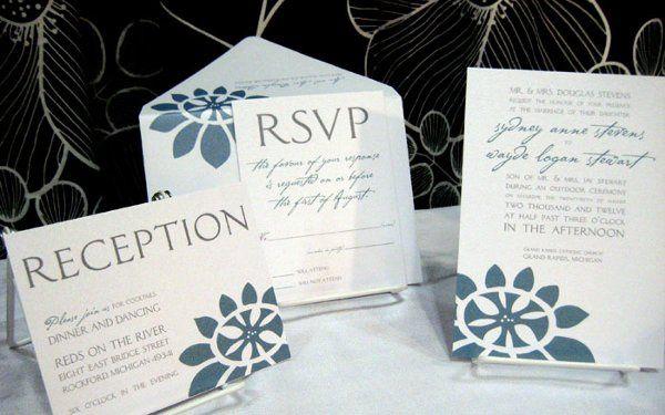 Tmx 1317072618439 IMG5095 Grand Rapids wedding invitation