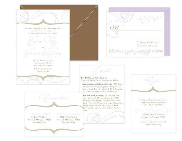 Tmx 1317072885751 Sydfrancis Grand Rapids wedding invitation