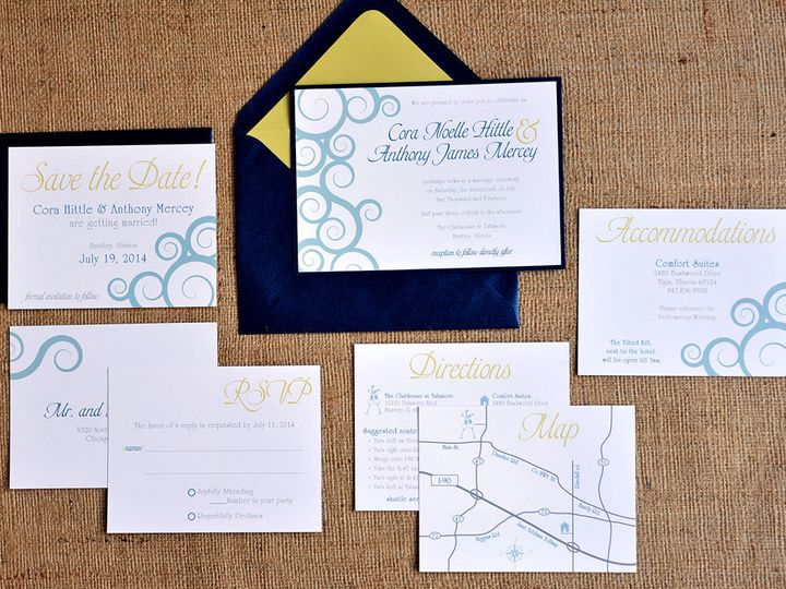 Tmx 1369787056661 Anthony9699 Ada, MI wedding invitation