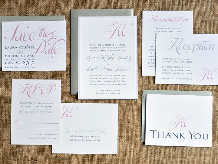 Tmx 1369787077468 Dustin9718 Ada, MI wedding invitation