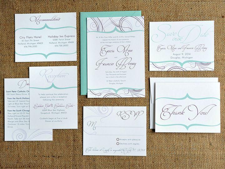 Tmx 1369787081160 Francis9706 Grand Rapids wedding invitation