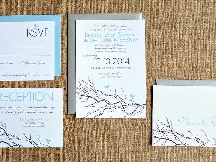 Tmx 1369787102742 Levi9724 Ada, MI wedding invitation