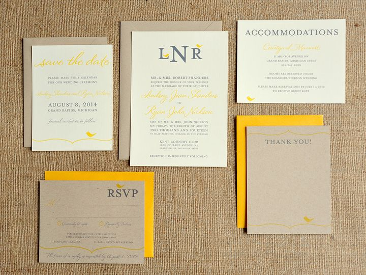 Tmx 1369787138306 Ryan9708 Grand Rapids wedding invitation