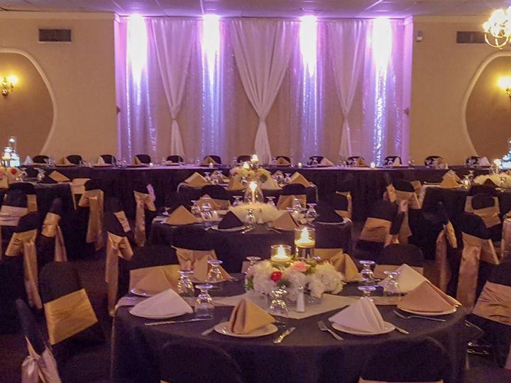 Tmx Rose Room Gold And Black With Pink Lights 51 486965 V1 Saint Charles, MO wedding venue
