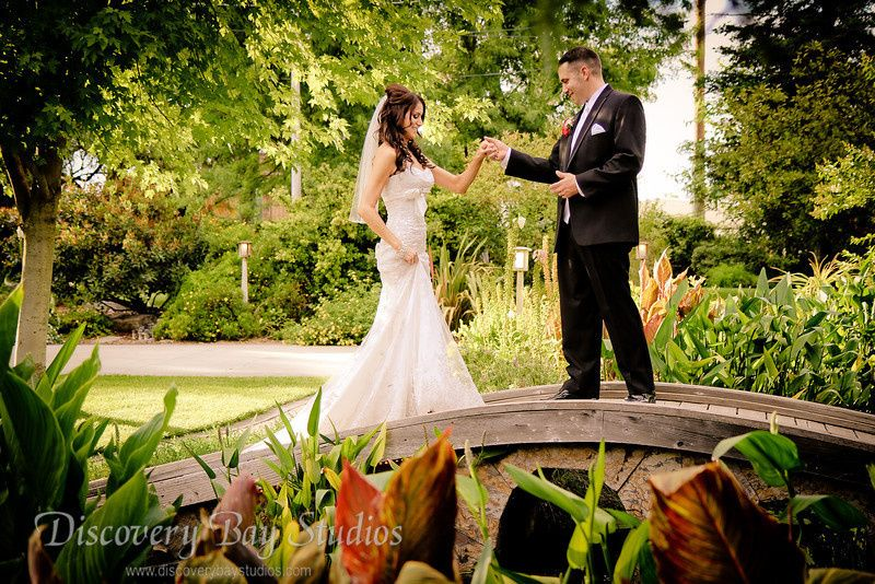 Brownstone gardens photos ceremony reception venue for Wedding dress rental san jose