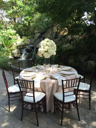 Bridal falls dinging