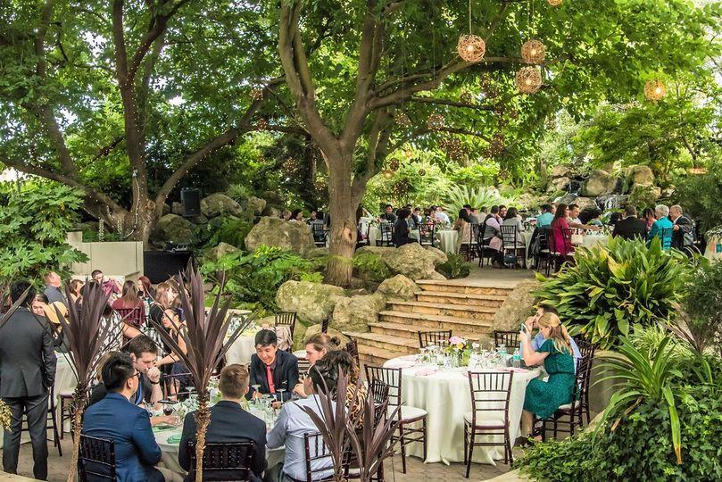 Bridal Falls dining