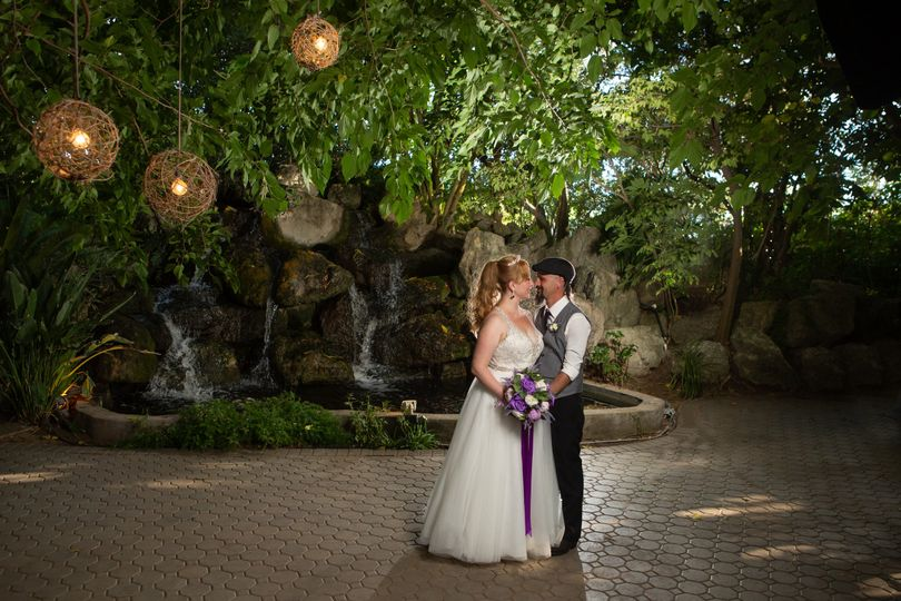 Bridal falls waterfall