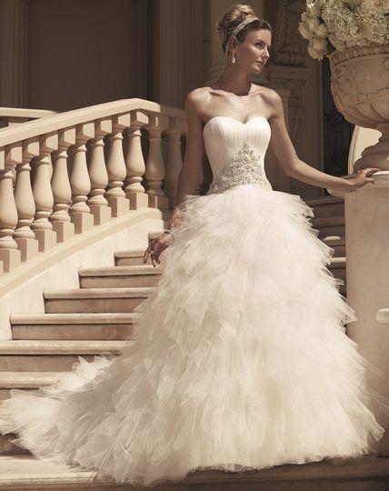 419074e6bf18 Casablanca Bridal - Dress & Attire - Auburn, AL - WeddingWire