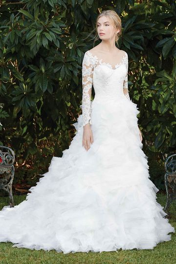 9a0e311ab4 Casablanca Bridal - Dress   Attire - Auburn