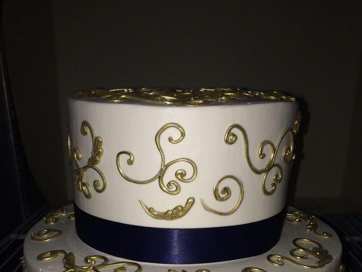 Tmx 1485745314988 Elelgant Wedding Cake Costa Mesa wedding cake