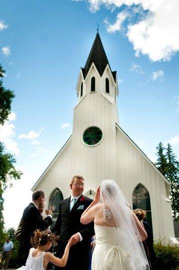 Mark & Melissa Helmicks ceremony at Old Scotch Church