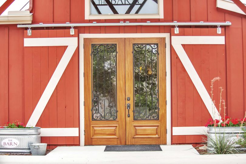 Front entry to the Barn