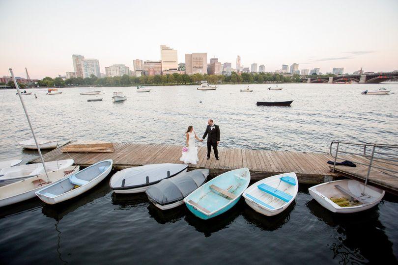 Yacht Club Dock Shot