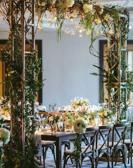 Grand Ballroom Garden Wedding