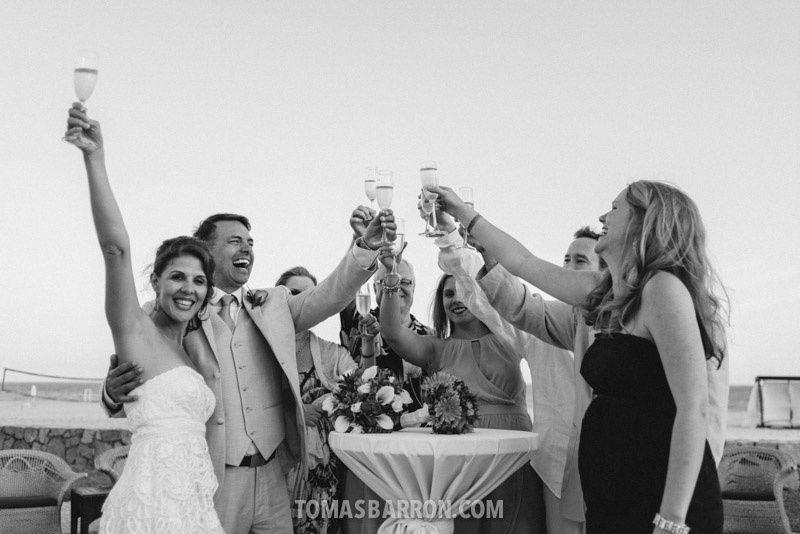 Cheers to joy!