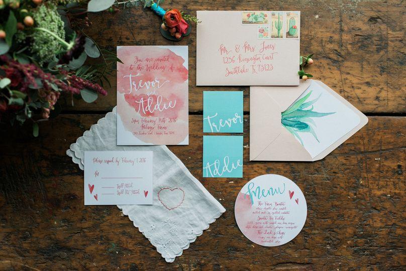 romantic arizona inspired wedding ideas 1