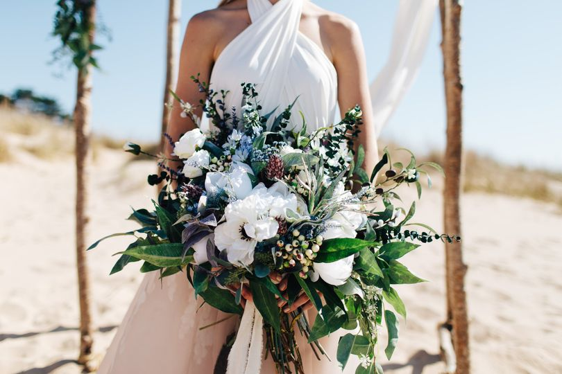 Faux Floral Bouquet
