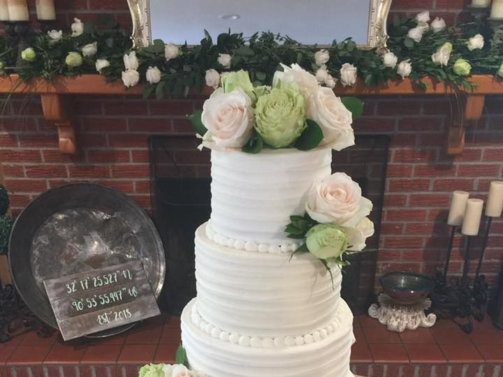 Tmx Horton Wedding 51 1044075 Vicksburg, MS wedding cake