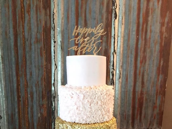 Tmx Pink And Gold 51 1044075 Vicksburg, MS wedding cake