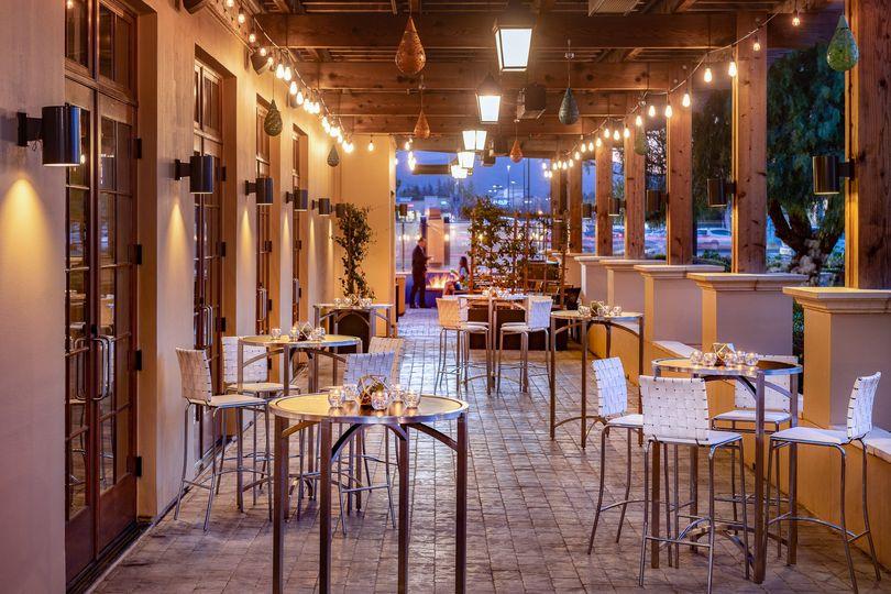 Spanish style patios