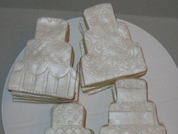 Tmx 1226382996231 Weddingcookies Rolla wedding cake