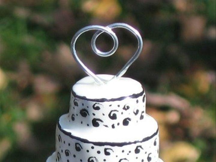 Tmx 1227643206151 Miniaturecarvedweddingwoodencake Rolla wedding cake