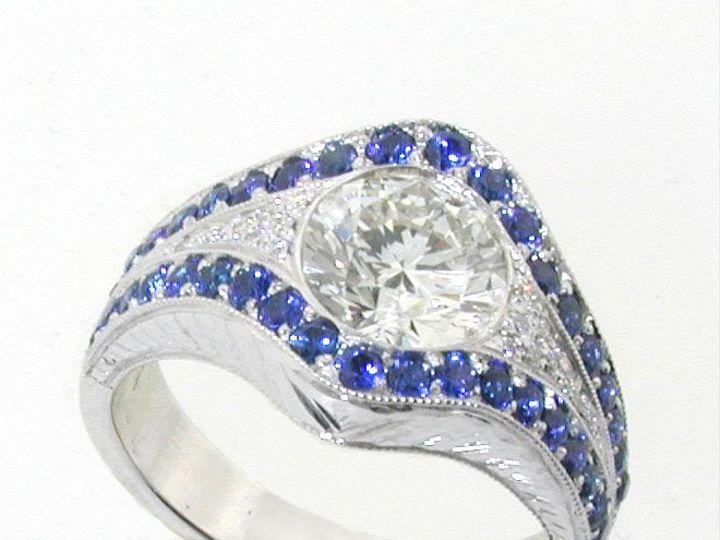 Tmx 1343091877197 SaphireandDiamonds Irvine wedding jewelry