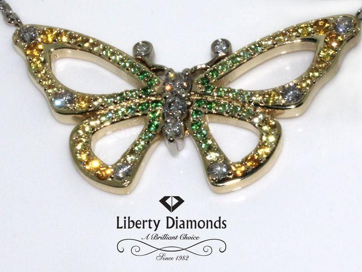 Tmx 1343343835493 ButterflyPendant Irvine wedding jewelry