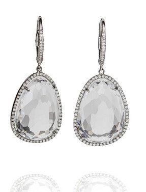 Tmx 1396645467437 White Topaz Earring Irvine wedding jewelry