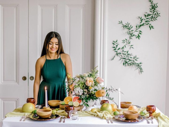 Tmx 1517852509 9768f1e7fcd72413 1517852507 C5f3d39aa68544b9 1517852507664 2 Table Setting Comp San Jose, CA wedding florist