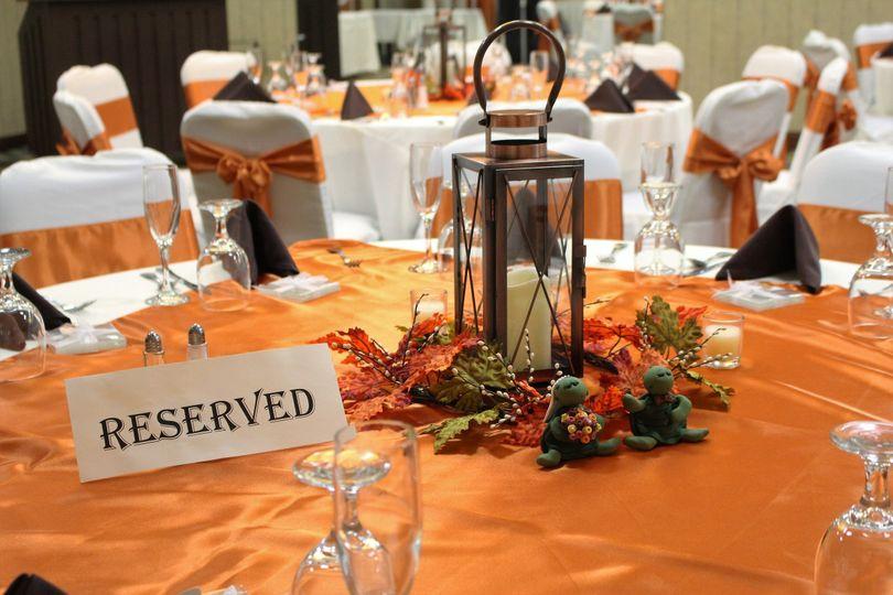 Reservation table setup