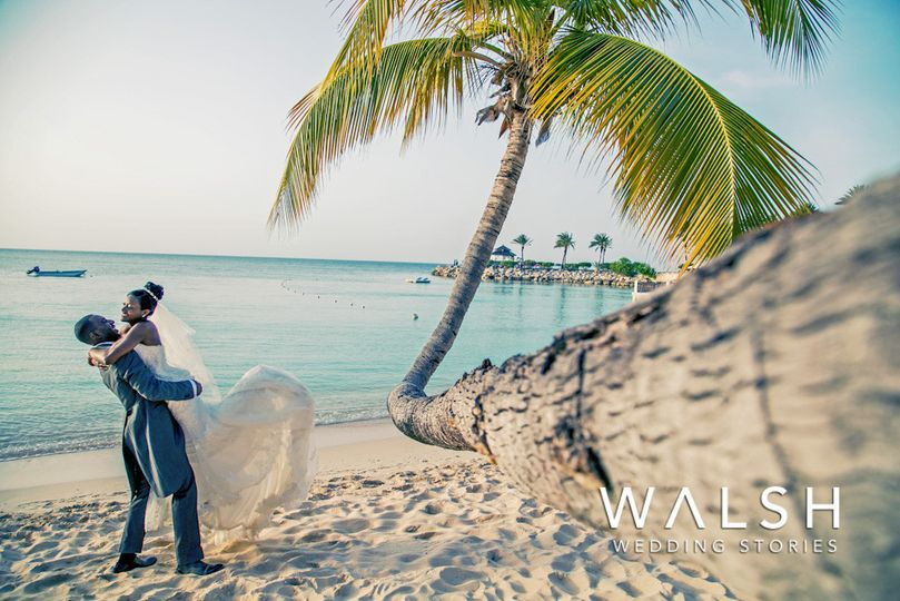 blue waters antigua caribbean wedding photographer
