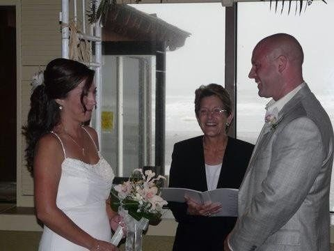 Happily getting married