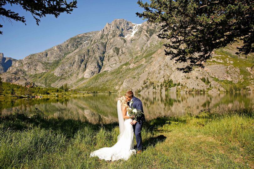 East Rosebud Lake Wedding