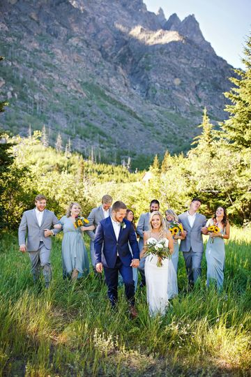 East Rosebud Wedding