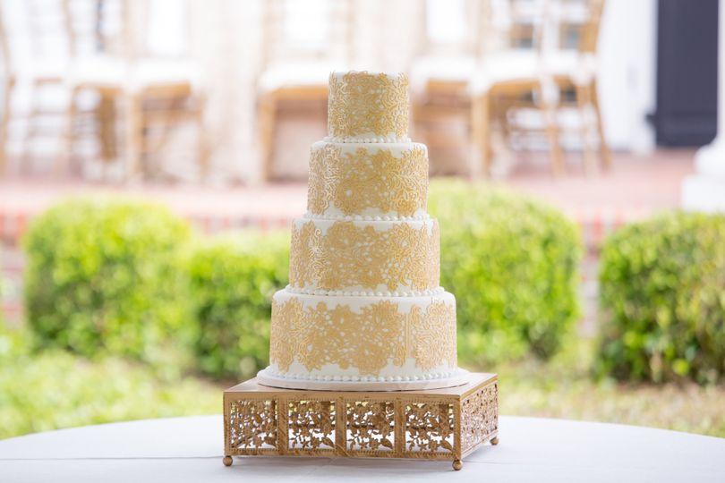 Croissants Bistro & Bakery - Wedding Cake - Myrtle Beach, SC ...