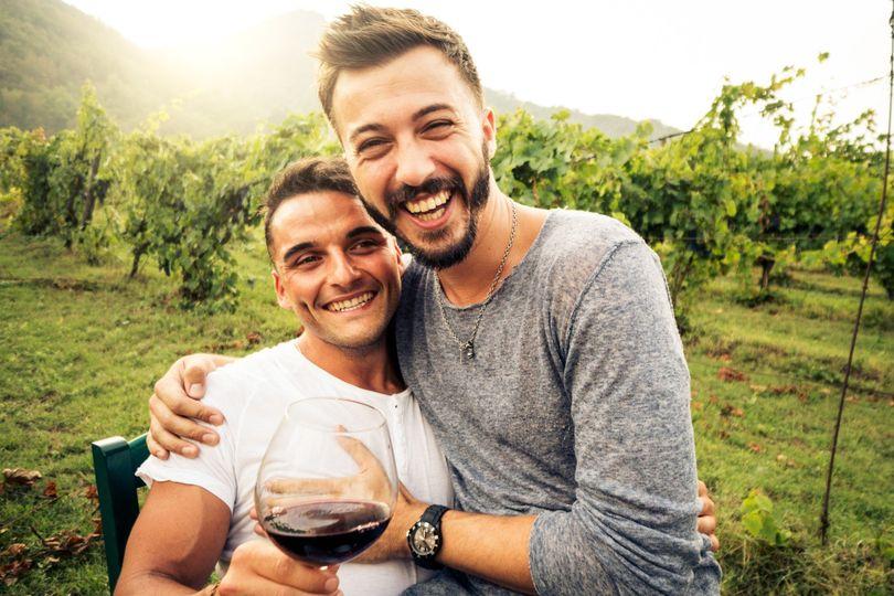 Wine country honeymoon