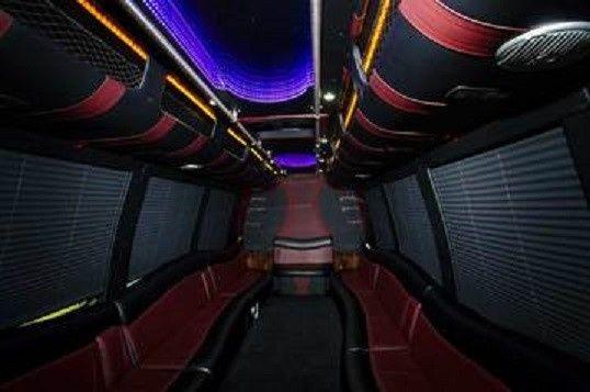 Party Bus 24 Interior