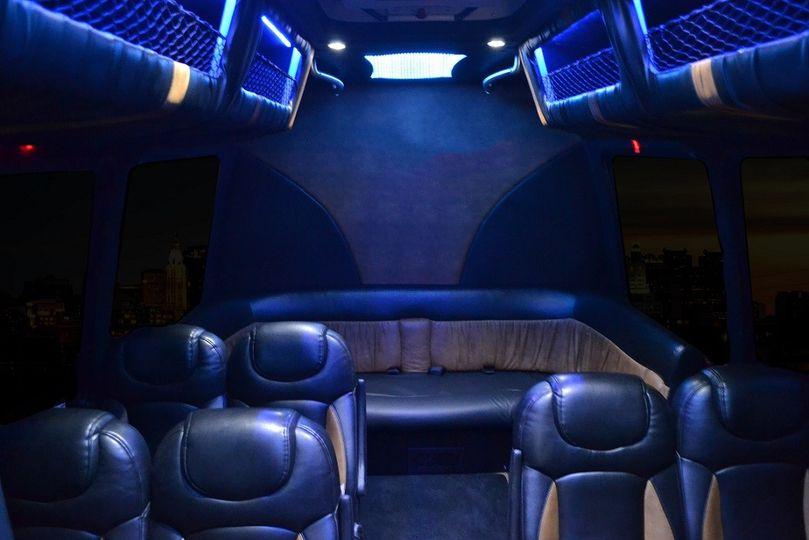 Party Bus 14 Interior
