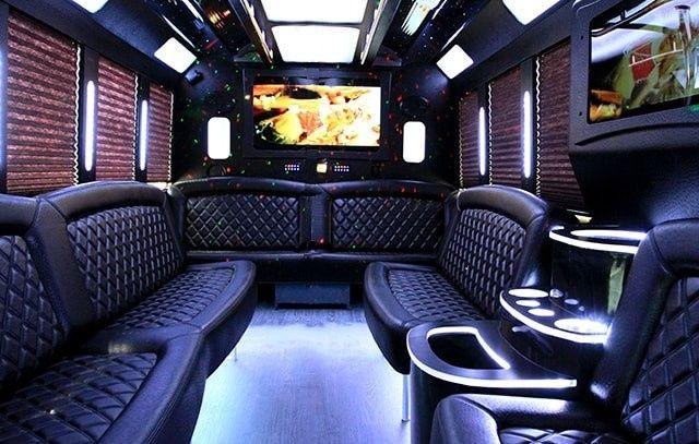 Party Bus 16 Interior