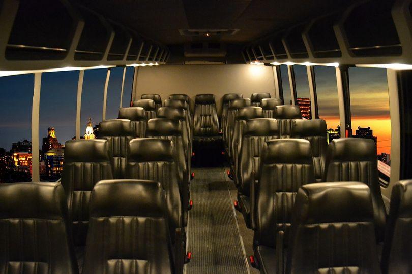Shuttle Coach 27 Interior